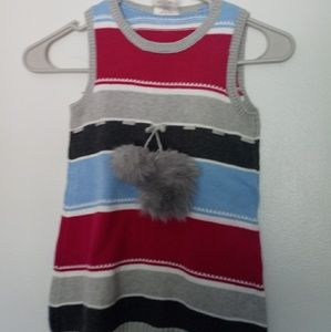 Little girls sweater dress in good condition